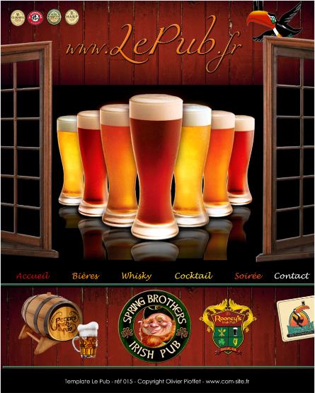 pubs bars je réalise votre site personnalisée à haute valeur ajoutée